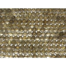 QUARTZ Golden Rutilated Natural Gd A 8mm Round