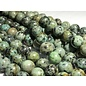 African Turquoise Round Beads Natural 12mm