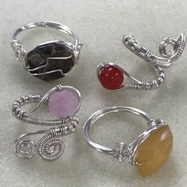 Wire Wrap Rings Class