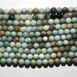 AMAZONITE Natural 10mm Faceted