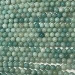 Amazonite Natural Blue 6mm Round