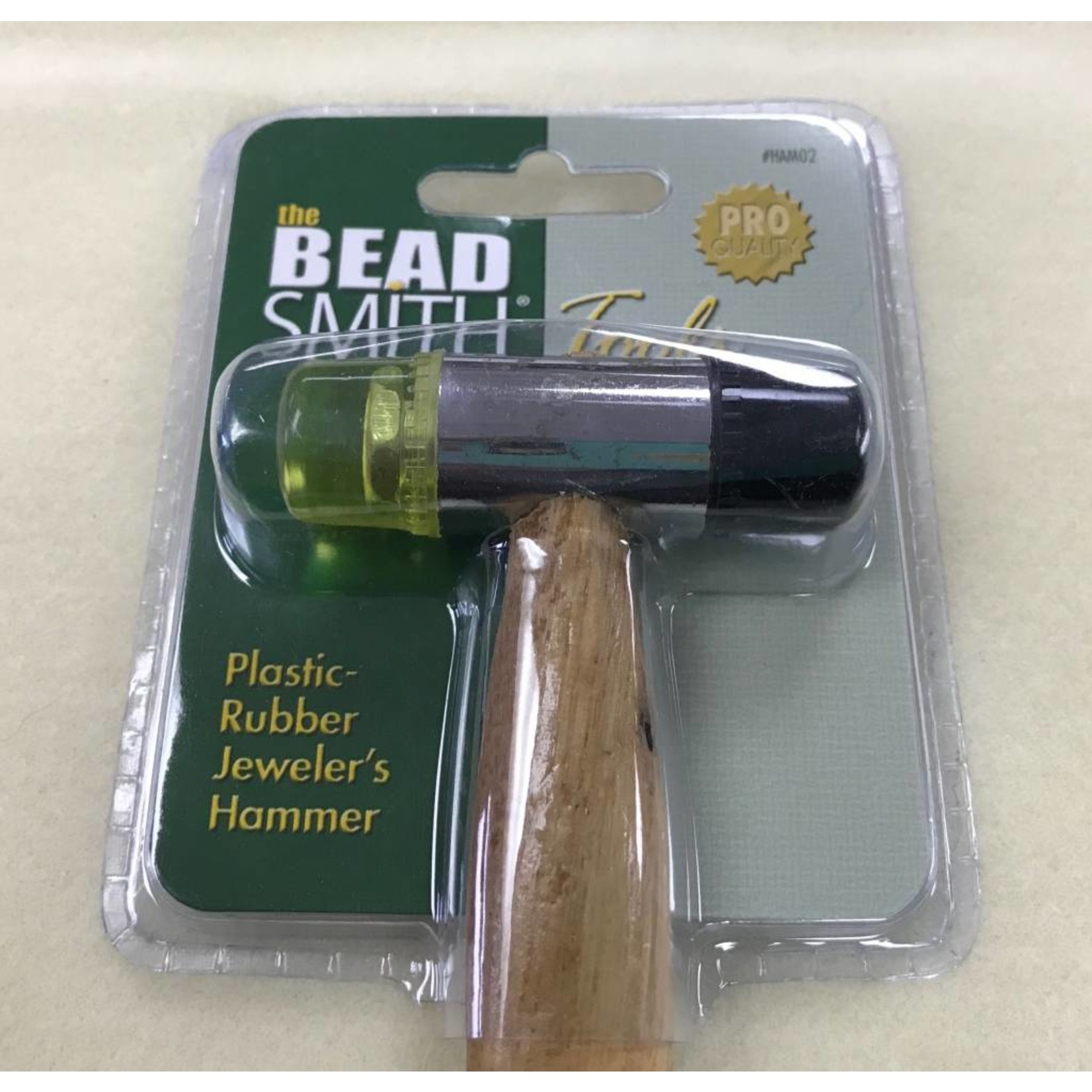 BeadSmith 2 Face Plastic/Rubber HAMMER