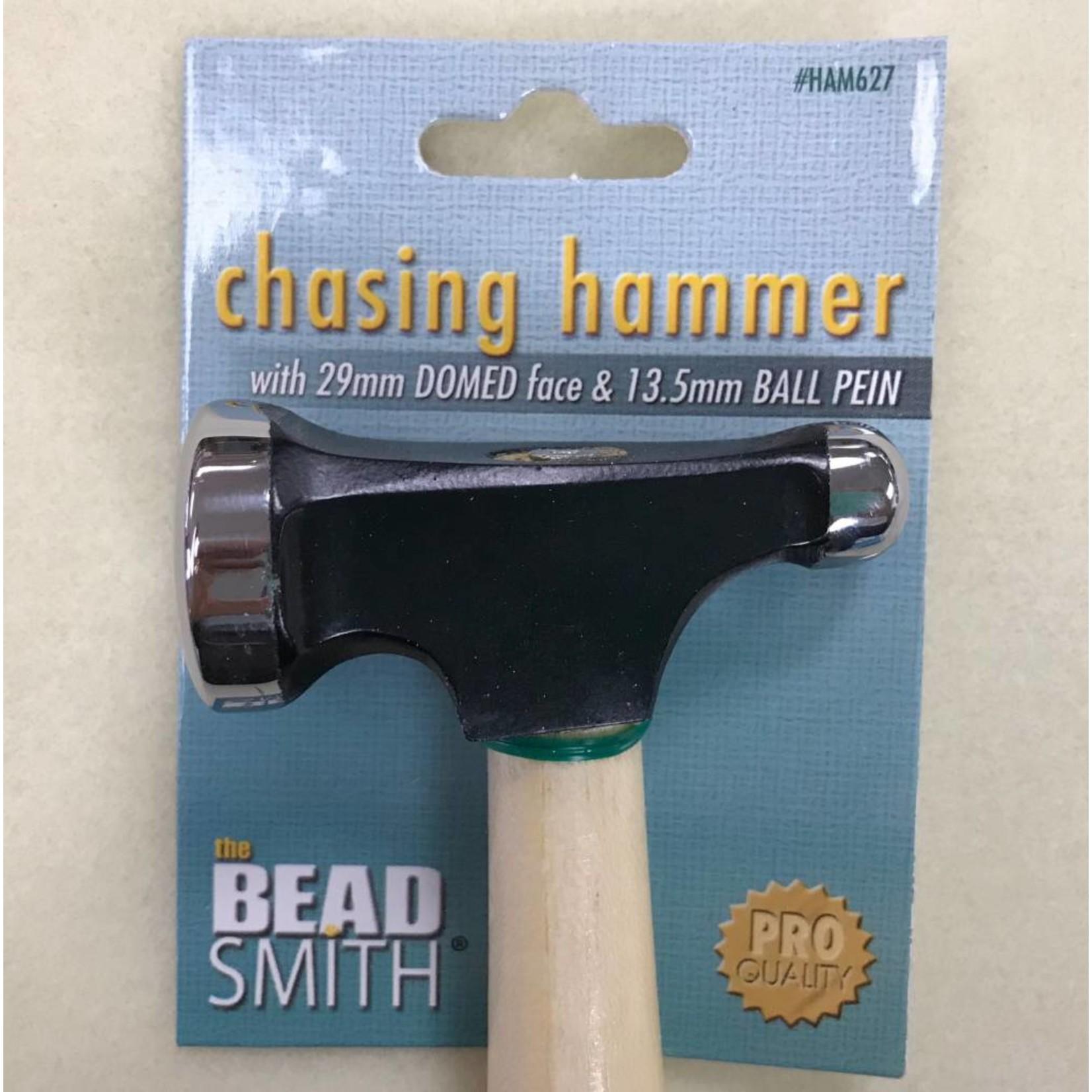 BeadSmith CHASING HAMMER 29mm Dome 13.5mm Ball Peen