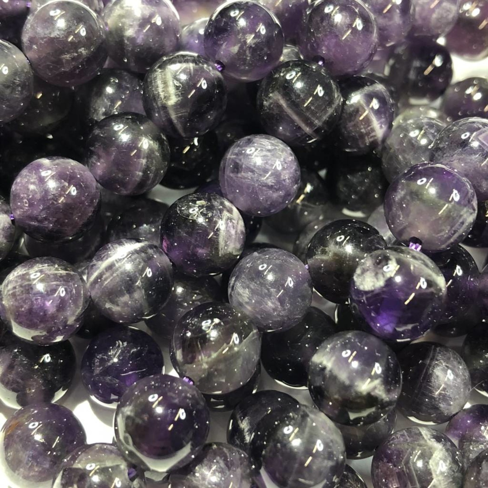 AMETHYST Grade AB Natural 8mm Round