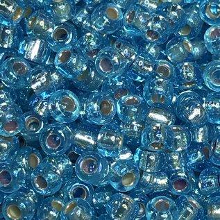 MIYUKI Rocaille 8-0 Silver Lined Aqua AB 25g