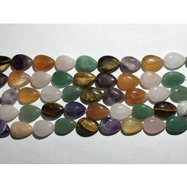 Gemstone Assorted Natural 16mm Teardrop