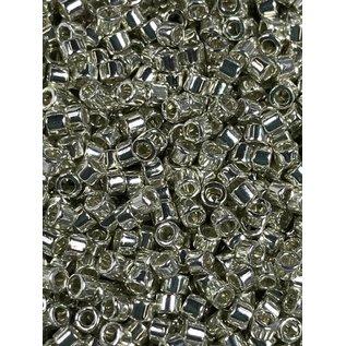 MIYUKI Delica 11-0 Galvanized Silver 10g