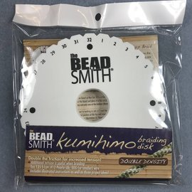 KUMIHIMO Thick (20mm) Disk 6 inch Instruction Pack