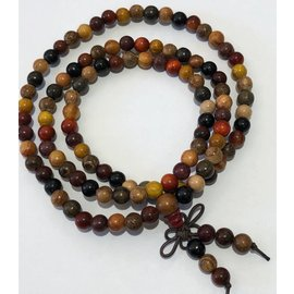 Natural Dried Assorted Wood Beads 6mm 108 Pcs