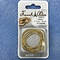 French Wire Gold Heavy 14""