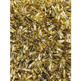 MIYUKI Twisted Bugle #2 Silver Lined Gold 25g