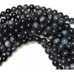 Obsidian (Rainbow) Sheen 8mm Round