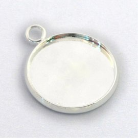 Cabochon/Resin Setting Tray 25mm S/P 6pcs