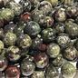 Dragon Blood JASPER Natural 6mm Round