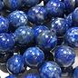 Lapis Lazuli Natural UNDYED Denim 8mm Round