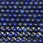 Lapis Lazuli Natural Dyed 8mm Round