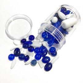 Preciosa Czech Glass Bead Mix - Cobalt 55g