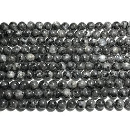 Larvakite Round Beads 8mm