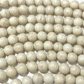 Magnesite Natural 8mm Round
