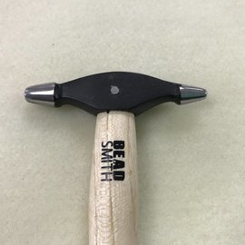 BeadSmith Mini EMBOSSING HAMMER 4 & 6mm Faces