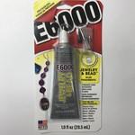 E6000 Craft GLUE 1.0 oz Tube with Bead Tips