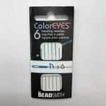 ColorEyes Beading NEEDLES Blue #11 6/Pkg