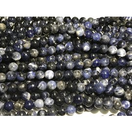 Sodalite Round Beads (Grade A) 8mm