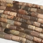 Sunstone Column Beads 13 X 8mm