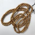 Natural Cedar Beads 8mm 108 Pcs