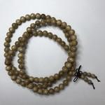 Natural Silkwood Beads 8mm 108 Pcs