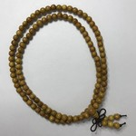 Natural Yellow Nangka Wood Beads 6mm 108 Pcs