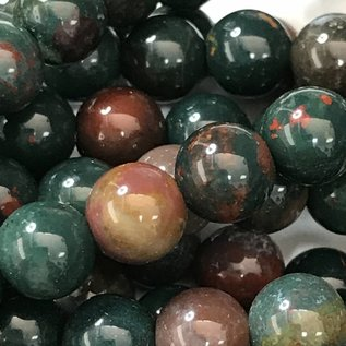 Indian Bloodstone Jasper 6mm Round