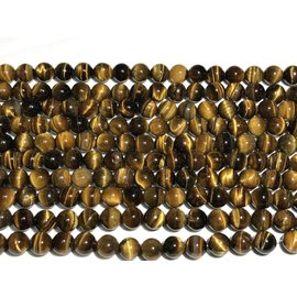 TIGER EYE Natural 10mm Round