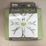 PLIER SET 8 Pc BeadSmith - Light Olive