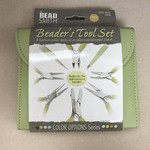 BeadSmith PLIER SET 8 Pc BeadSmith - Light Olive