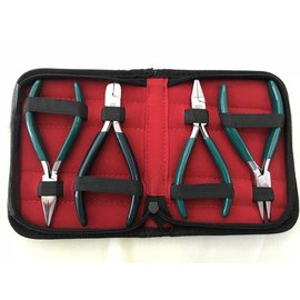PLIER Set - Carbon Steel Medium Duty 4 Pc Set
