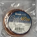 Bare Copper Wire - 16 Gauge Round 5 Yards