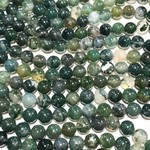 Natural Moss AGATE 8mm Round
