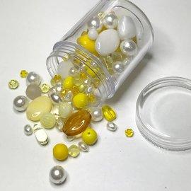 Preciosa Czech Glass Bead Mix - Sunshine 55g