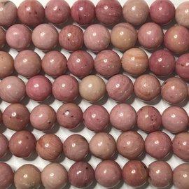 Natural Pink RHODONITE 6mm Round