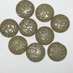 Czech Backlit Matte Vaporize Cabochon 25mm Rd