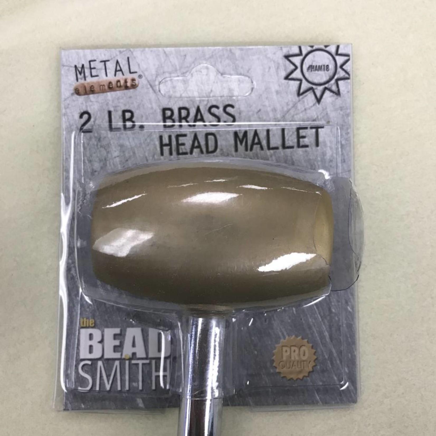 2lb. Brass Head MALLET