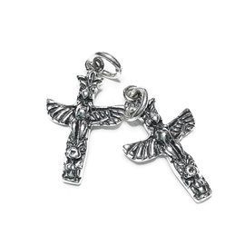 Sterling Silver Native Totem Mini Charm