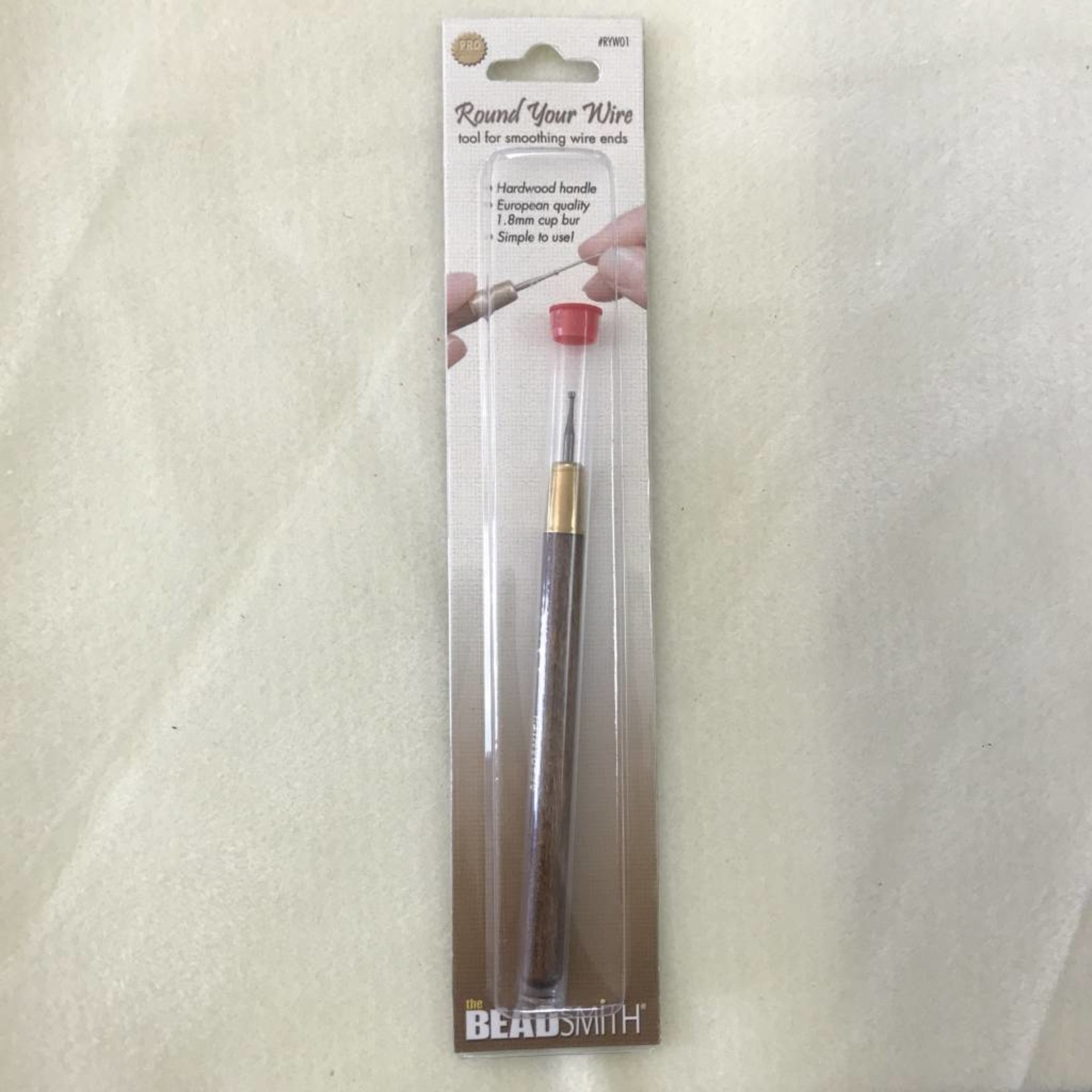 BeadSmith CUP BURR Wire Rounding Tool 1.8mm