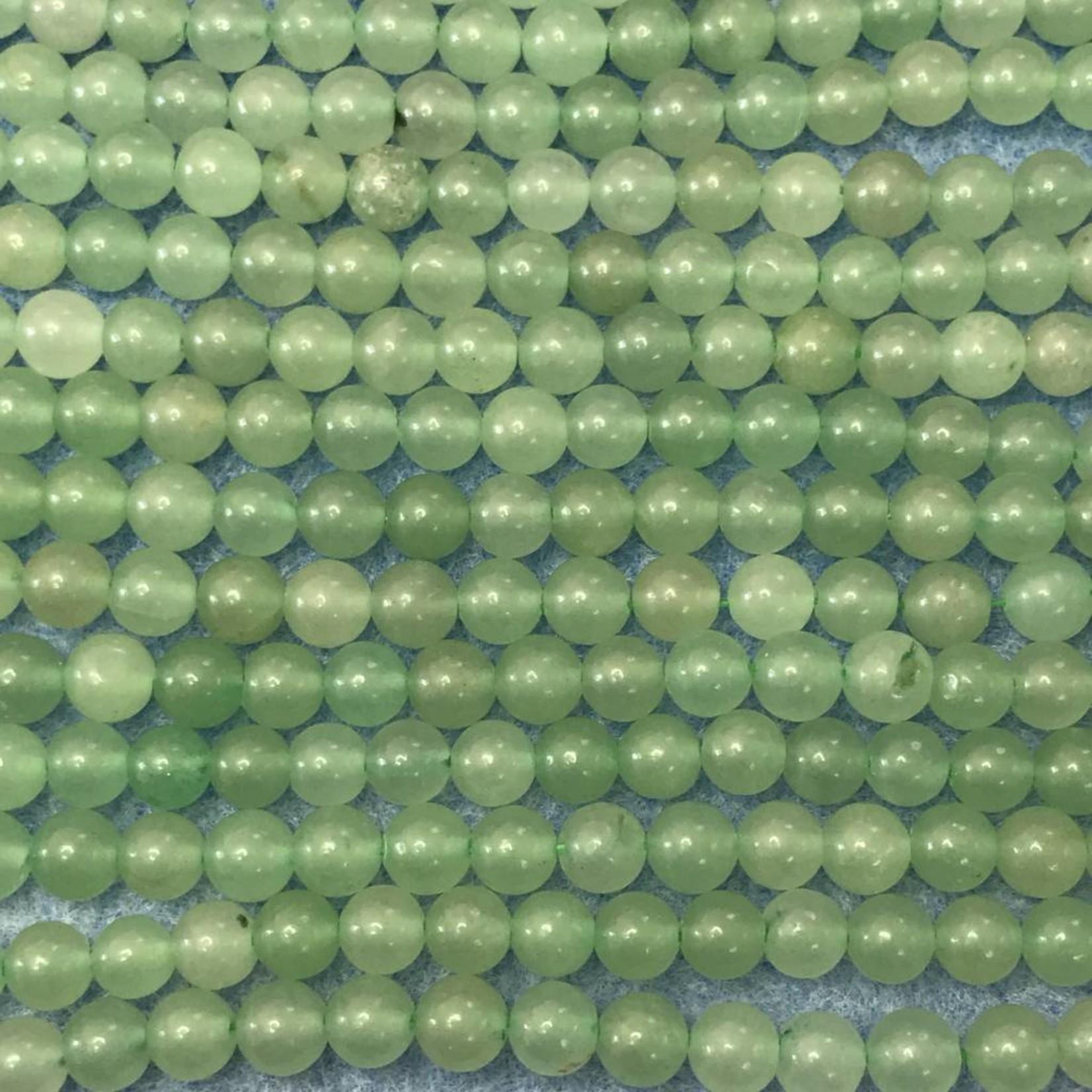 Green AVENTURINE Natural 6mm Round