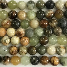 Natural Onyx/Jade 10mm Round