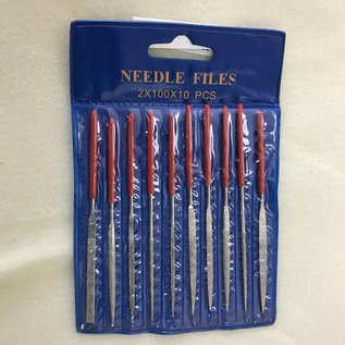 Diamond Coat Needle File set 10 Pcs