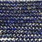 Lapis Lazuli Undyed Natural Grade AB 6mm Round