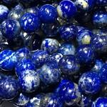 Lapis Lazuli Undyed Natural Grade A 6mm Round
