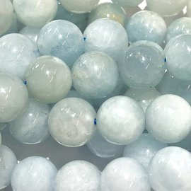 AQUAMARINE Natural Blue 8mm Round